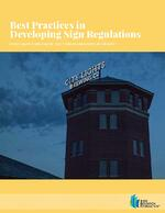 Best Practices in Developing Sign Regulations_COVER