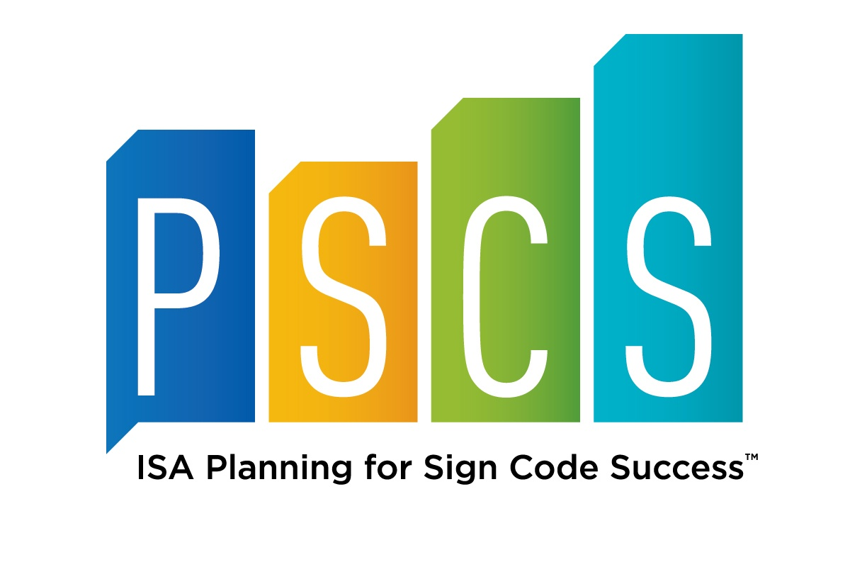 ISA Planning for Sign Code SuccessTM