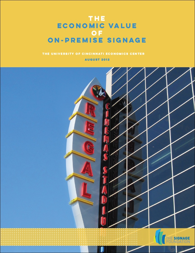 The Economic Value of On-Premise Signage (2012, Cincinnati)