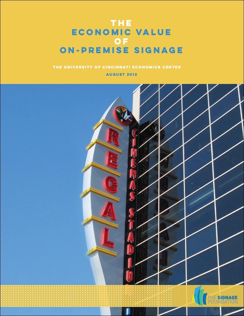 The Economic Value of On-Premise Signage (2012, Cincinnati)
