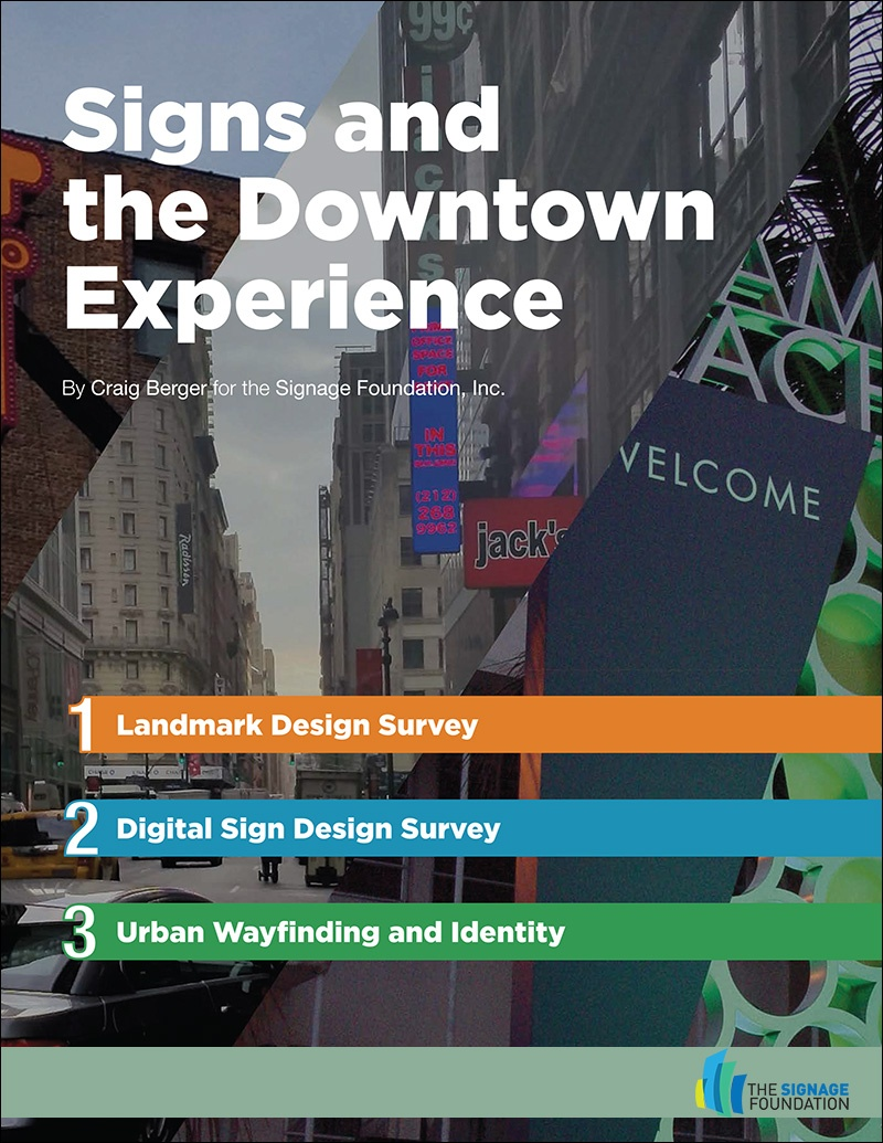 Signs and the Downtown Experience